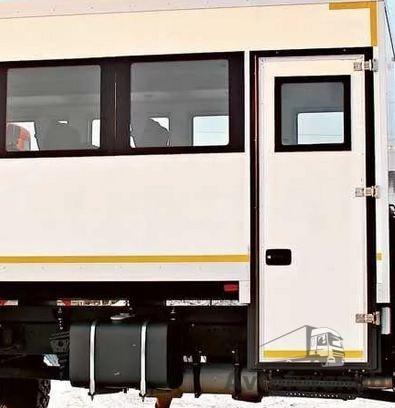замок для двери вахтового автобуса